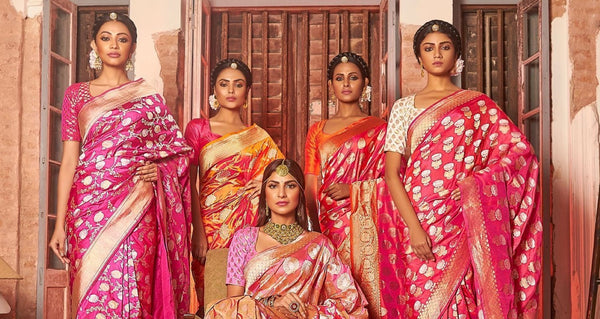 14 Different Kinds of Sarees from All Over India