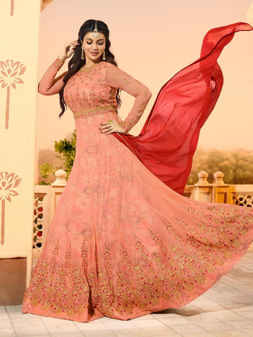Ayesha Takiya Georgette - Anarkali Indian Dresses
