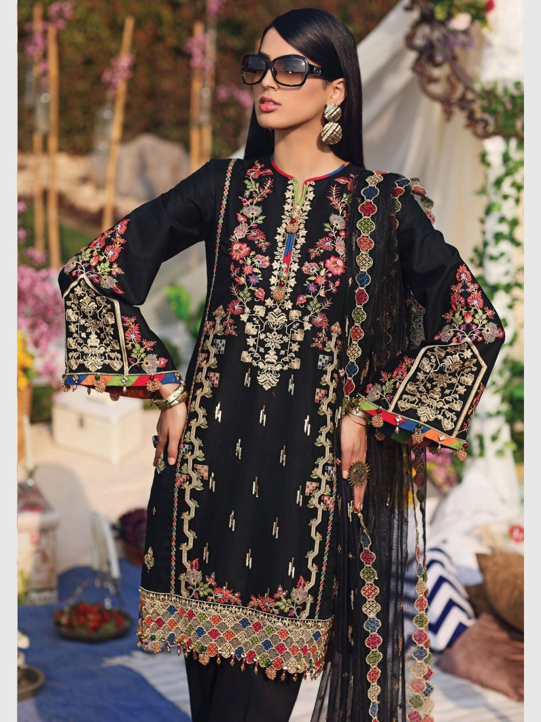 Designer Embroidery - Pakistani Dress