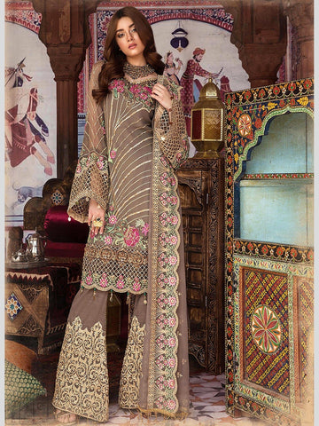 Bronze Flicker Pakistani Suit Indian Dresses