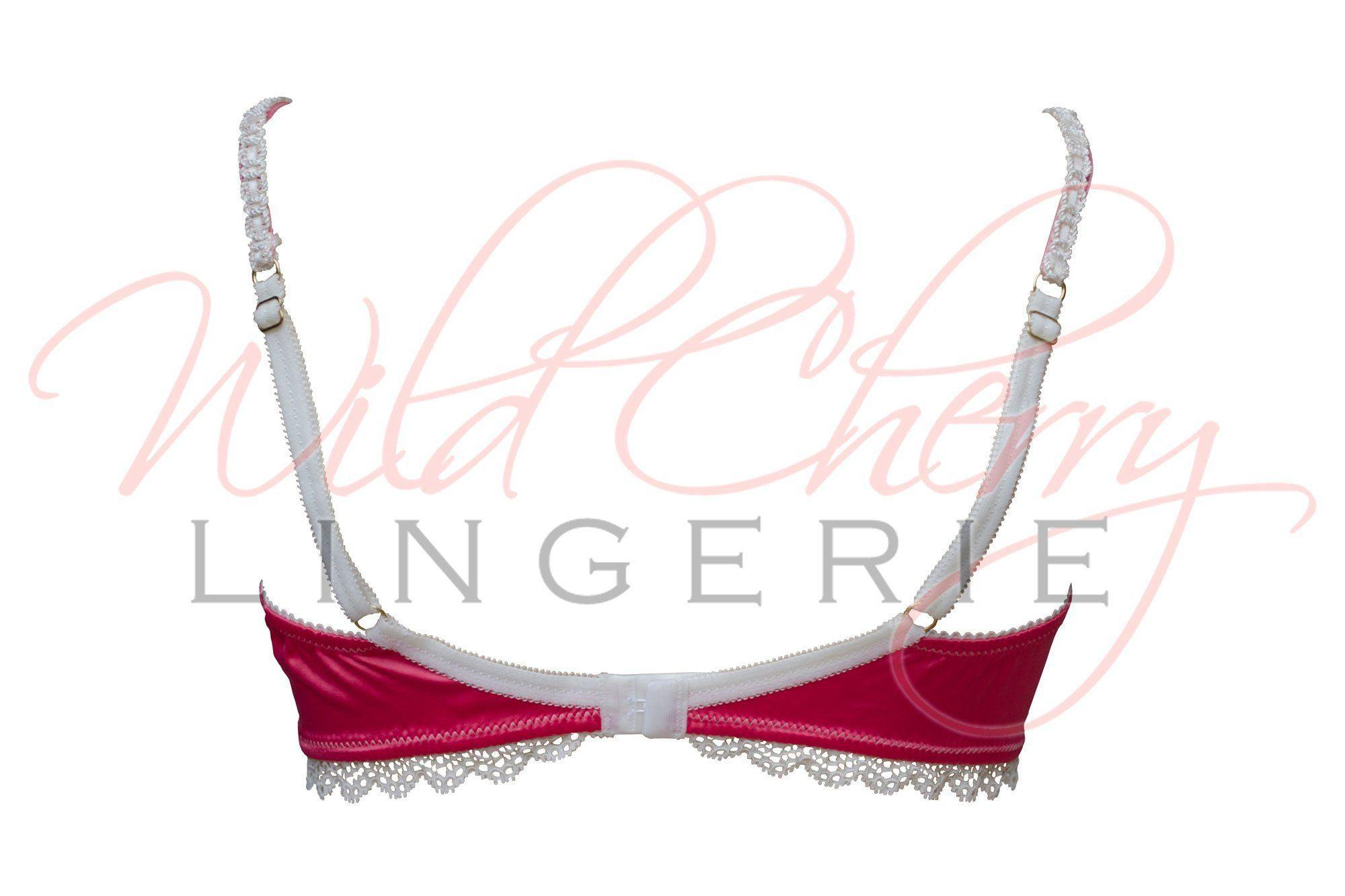 Andrea White Collection Soft Bra VIPA Lingerie, Bras, VIPA Lingerie - Wild Cherry Lingerie