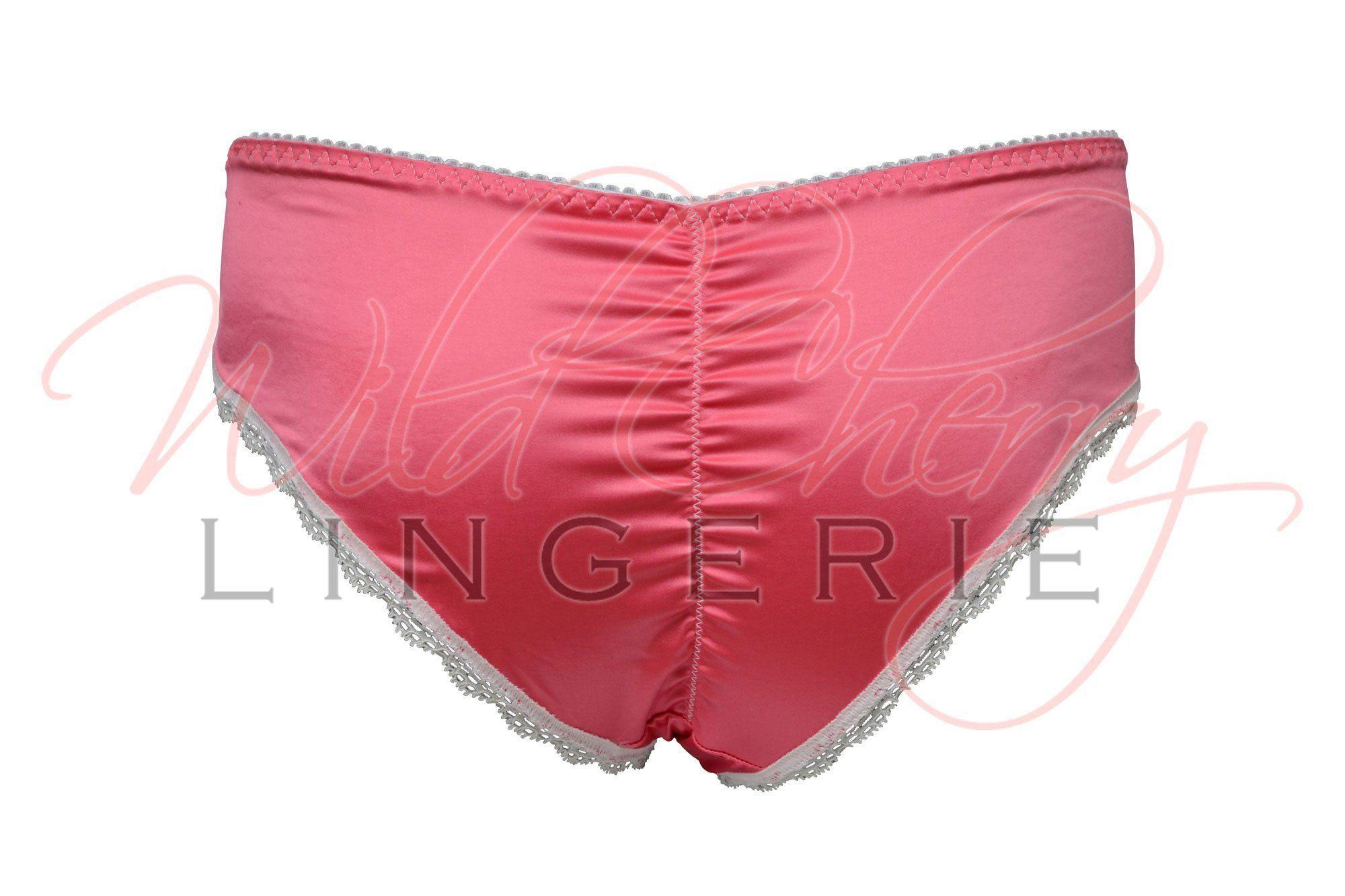 Andrea White Collection Hipster Panties VIPA Lingerie, Panties, VIPA Lingerie - Wild Cherry Lingerie