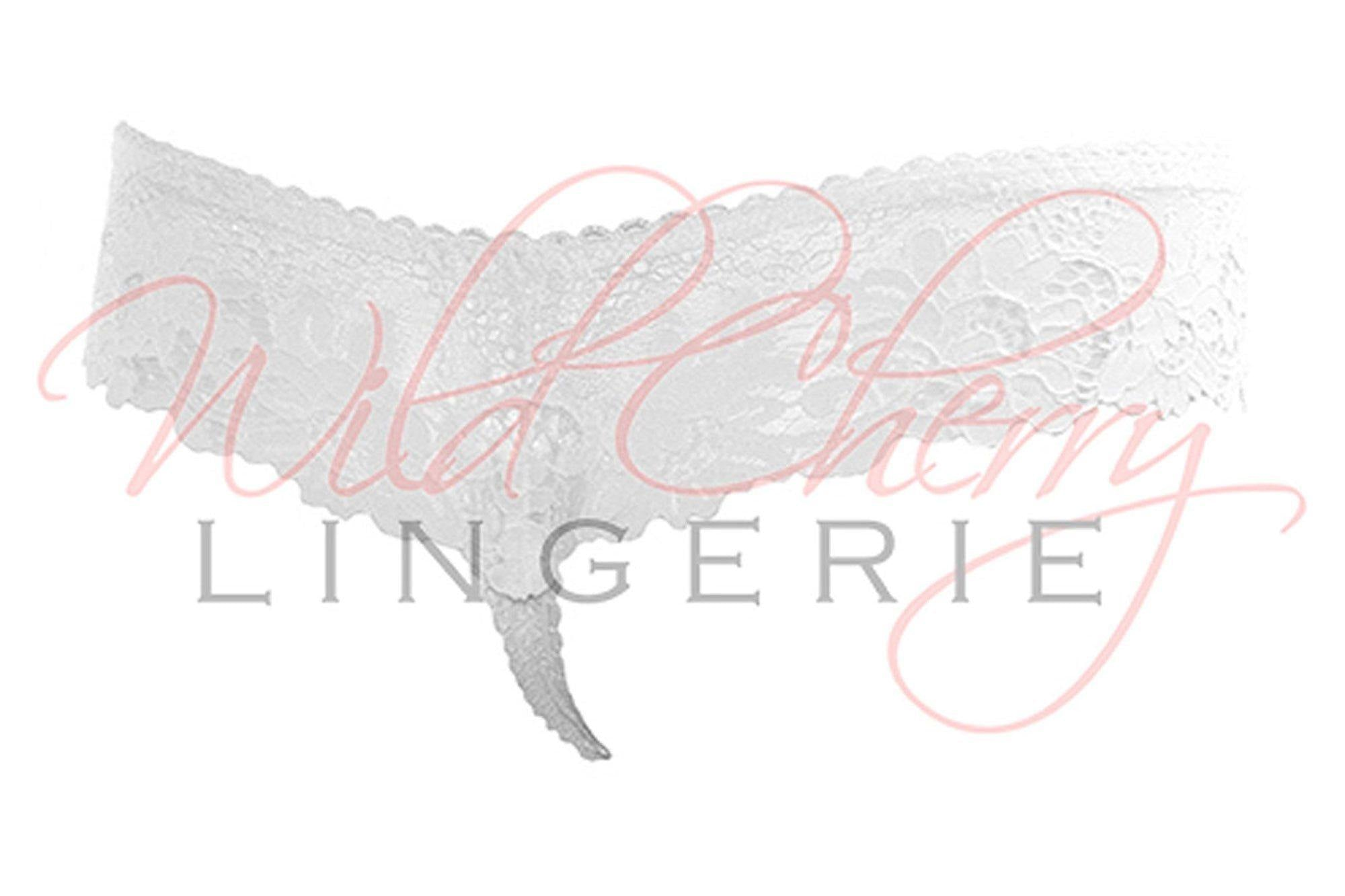 Daniella White Collection Thong Panty VIPA Lingerie, Panties, VIPA Lingerie - Wild Cherry Lingerie