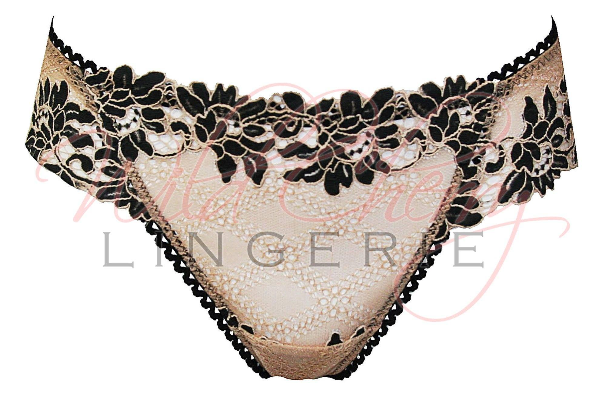 Daniella Beige Collection Thong Panty VIPA Lingerie, Panties, VIPA Lingerie - Wild Cherry Lingerie