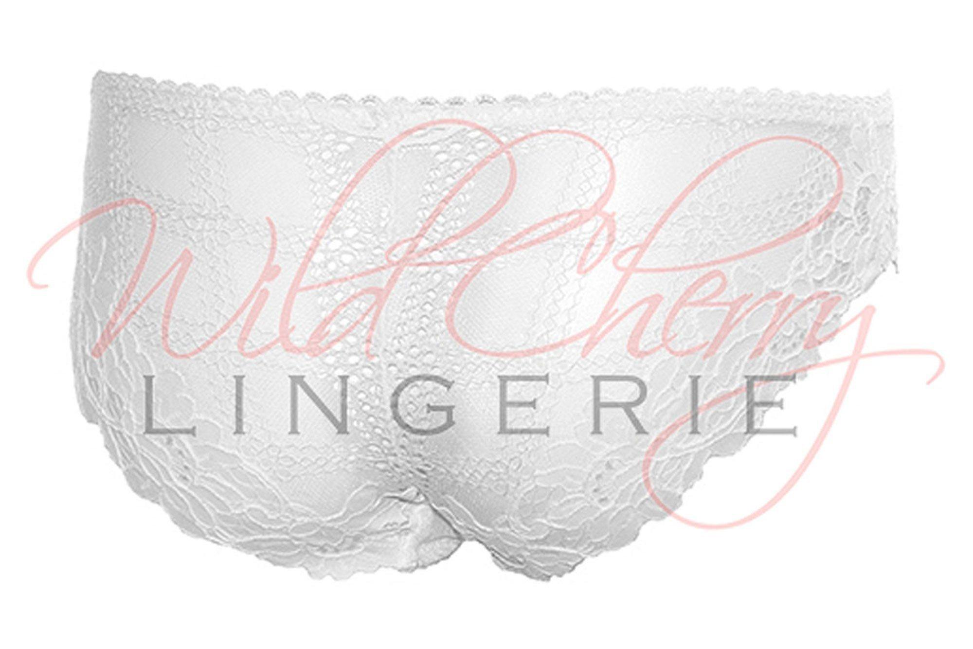 Daniella White Collection Hipster Panties VIPA Lingerie, Panties, VIPA Lingerie - Wild Cherry Lingerie