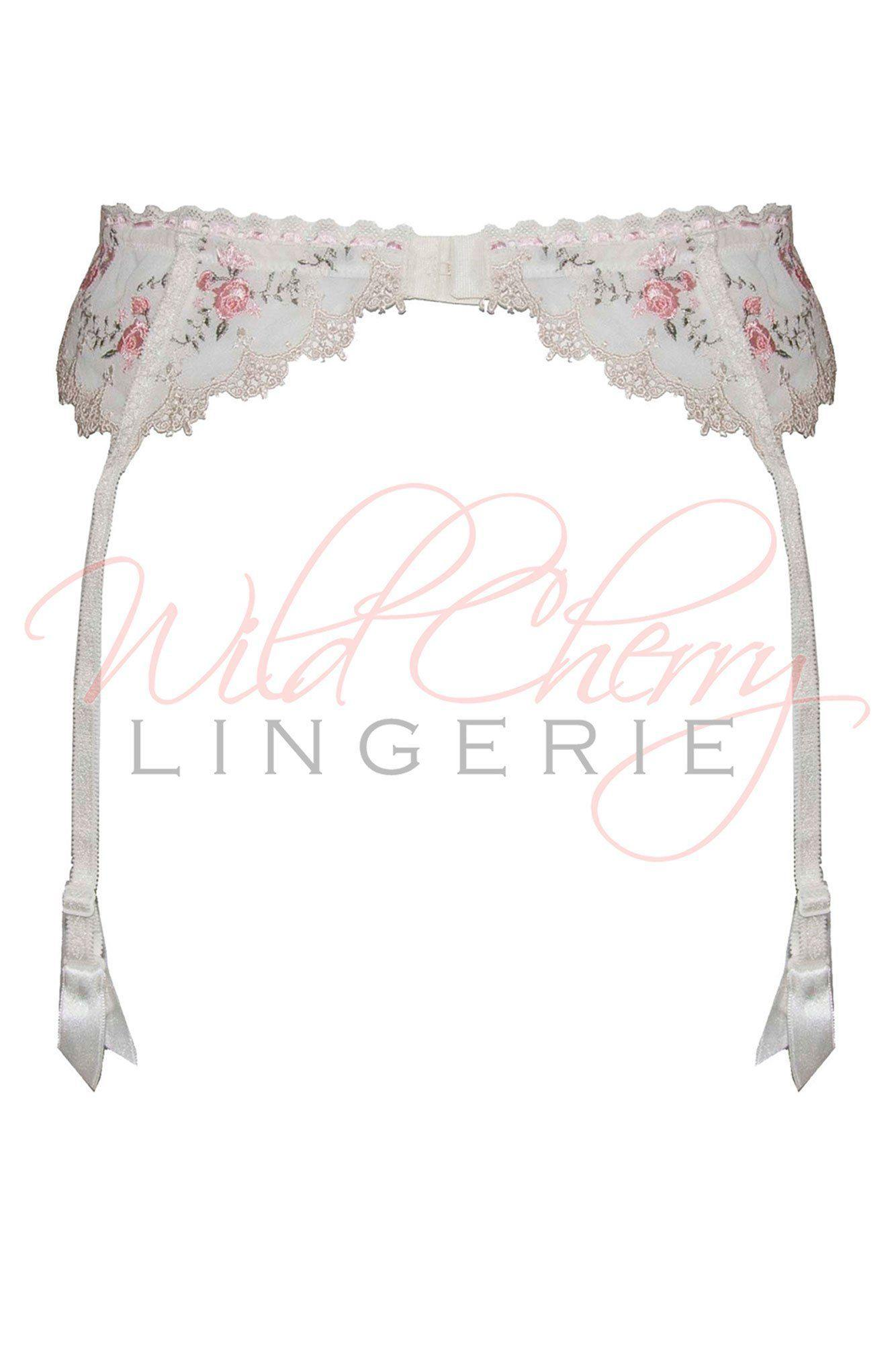 Alisa Collection Suspender Belt VIPA Lingerie, Suspender Belts & Garter Leg, VIPA Lingerie - Wild Cherry Lingerie