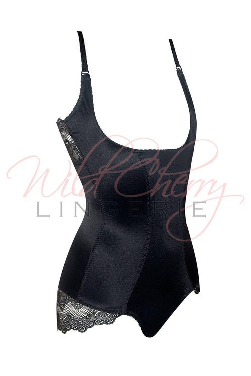 Santa Black Collection Shaperwear Underbust Bodysuit VIPA Lingerie, Shapewear, VIPA Lingerie - Wild Cherry Lingerie