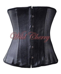Elegance Button Up Corset, Corsets & Bustiers, Wild Cherry Lingerie - Wild Cherry Lingerie