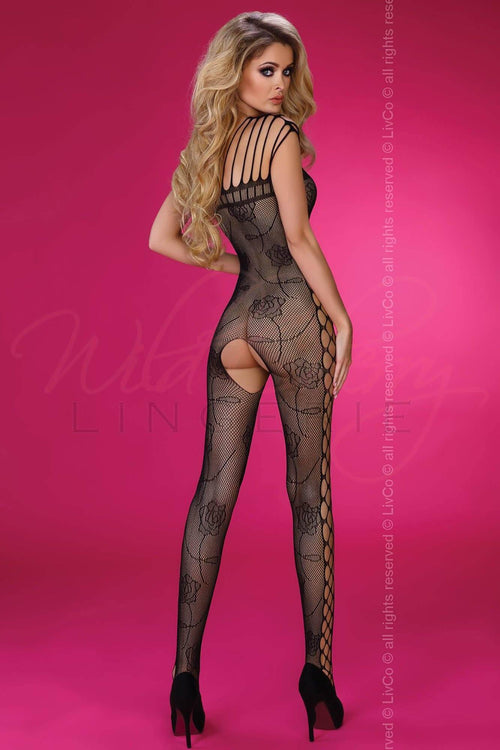 Althina Bodystocking Livia Lingerie, Bodystockings & Bodywear, Livia Lingerie - Wild Cherry Lingerie