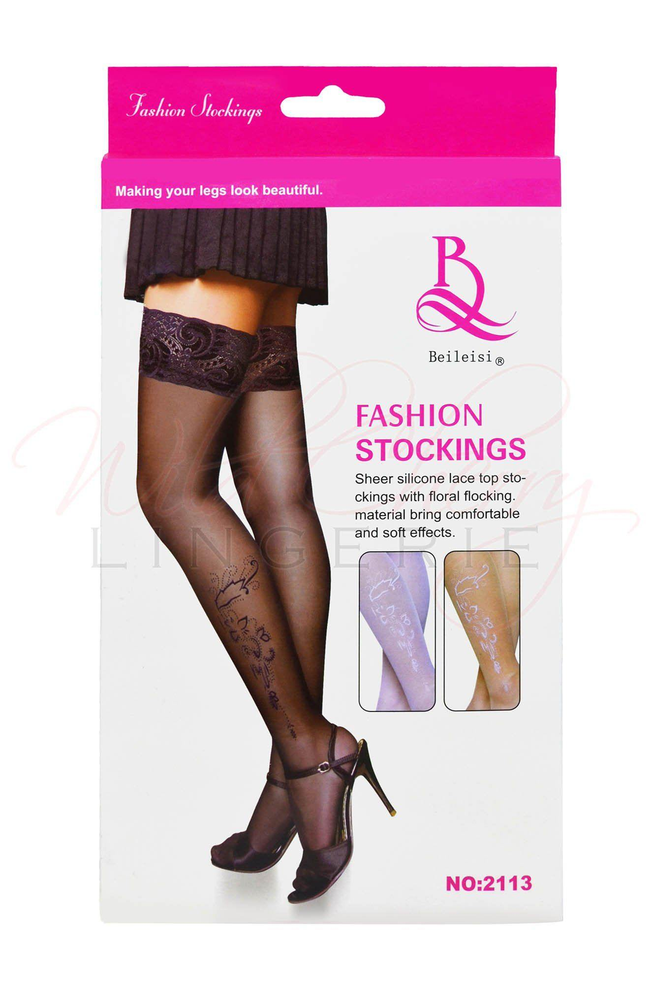 Ready for Anything Thigh High Stockings, Legwear, Unbranded - Wild Cherry Lingerie