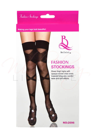 Webbed Widow Stockings