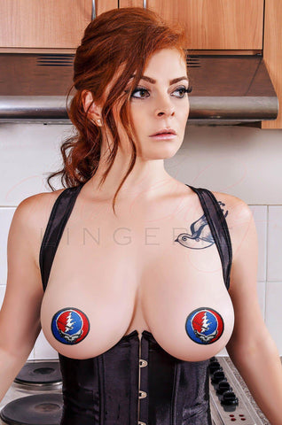 Jingle Bells! 3D Nipple Covers