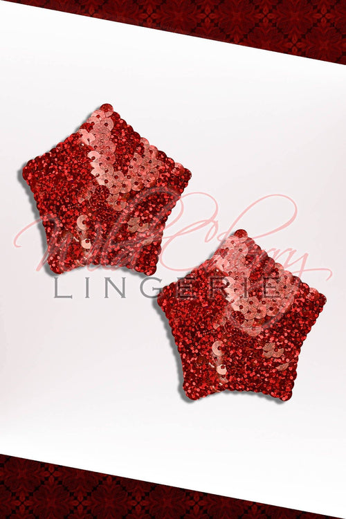 Sequin Star Pasties, Accessories, Wild Cherry Lingerie - Wild Cherry Lingerie
