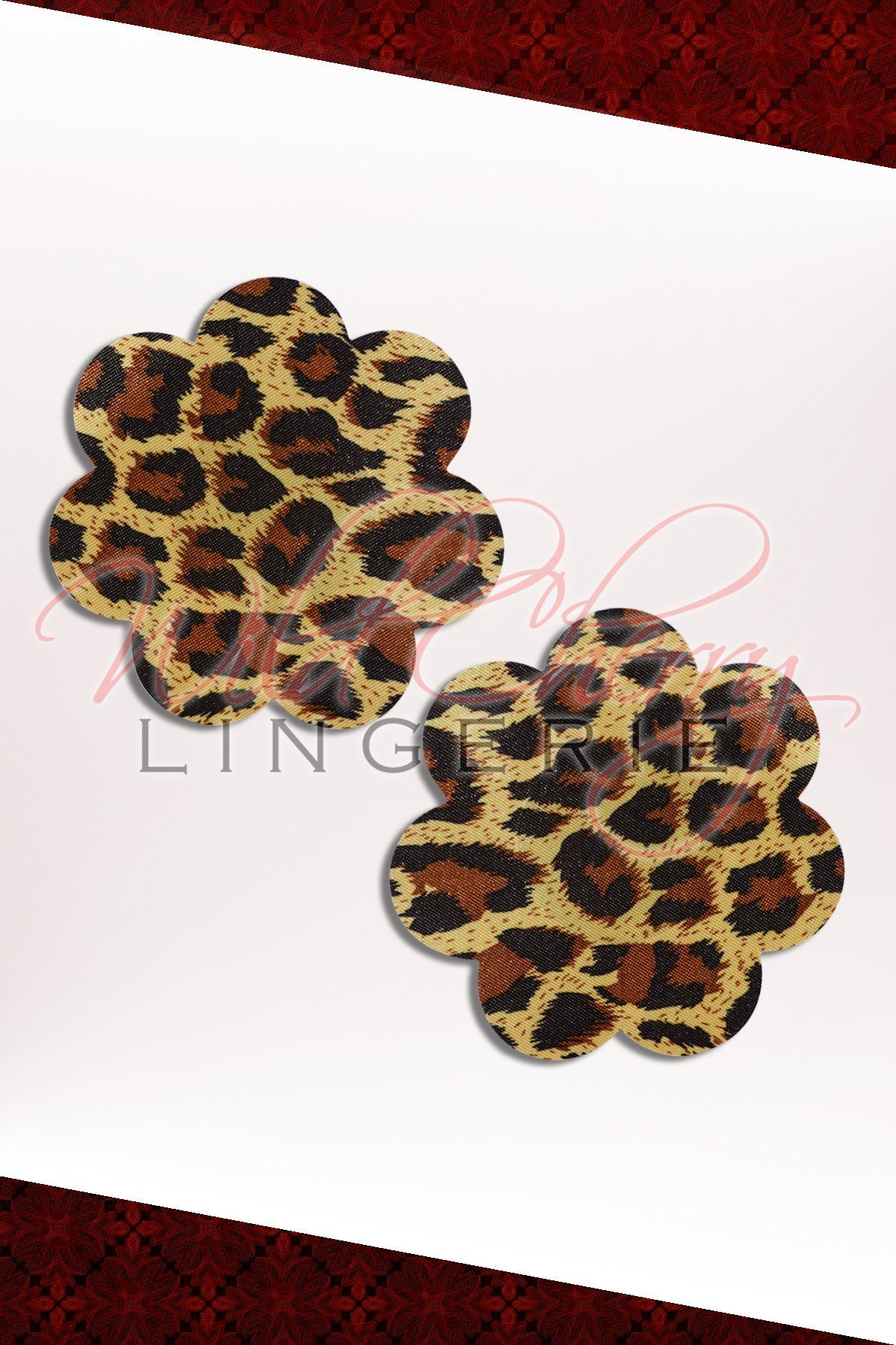 Panther Flower Nipple Covers