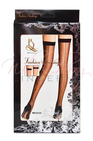 Classic Sheer Thigh High Stockings