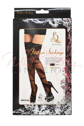 Holiday Fishnet Stockings