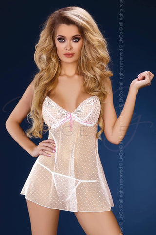 Kusumita Chemise and Panty Set Livia Lingerie