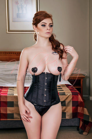Satin and Lace Corset