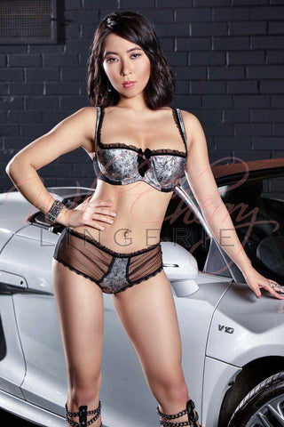 Daniella Black Collection Open Bra VIPA Lingerie