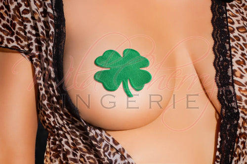 The Luck of the Irish Nipple Covers