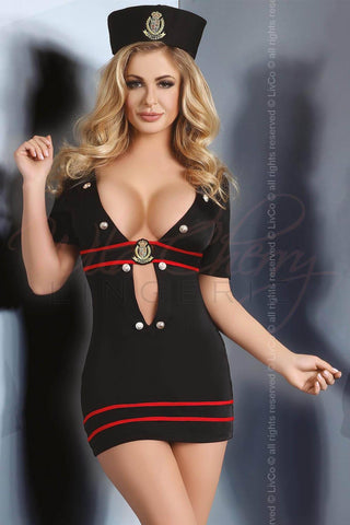 Pacifica Air Hostess Costume Livia Lingerie