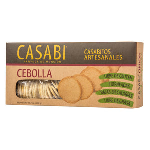 Casabi Crackers - Onion - Naturally Gluten-Free, Vegan & Paleo