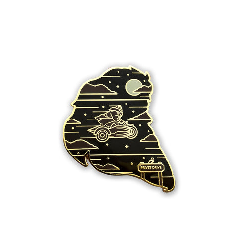 """Keeper""  Enamel Pin Collab with Ursa Major Supply Bundle"