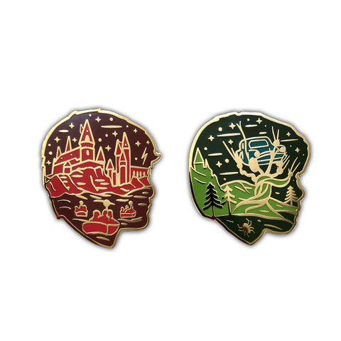 """Sorcerer & Chamber"" 2 Pin Pack EverGoodMerch & Ursa Major Supply Collaboration"