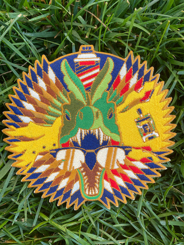 Dilophosaurus Patch By Danny Haas