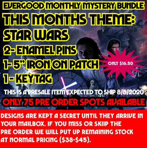 Star Wars Themed June Mystery Bundle Pre Order Expected to ship 8/3/2020