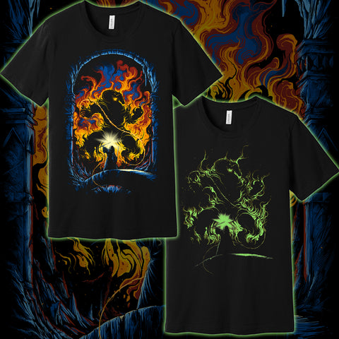 """Bridge of Khazad-dûm""Glow in the Dark T shirt"