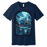 The Battle on the Ice Planet T shirt Navy