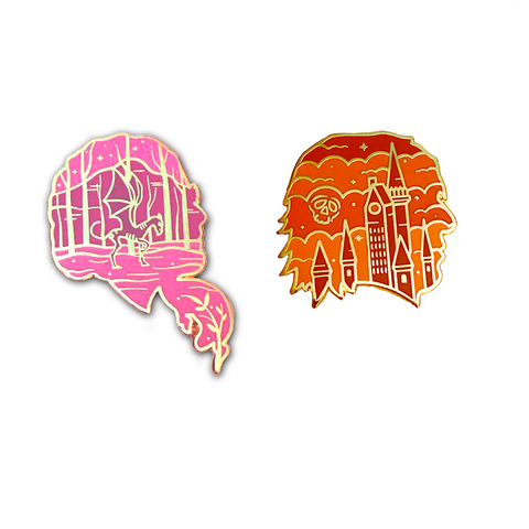 """Phoenix"" and ""Prince"" Enamel Pin Collab with Ursa Major Supply Bundle"