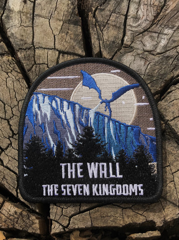 """The Wall"" embroidered patch"