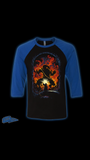 """Bridge of Khazad-dûm""3/4 sleeve baseball  T shirt"