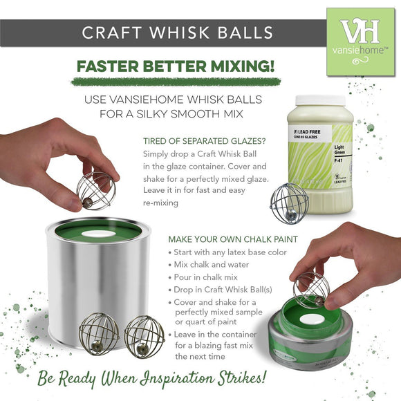 Chalk Paint Whisk Balls