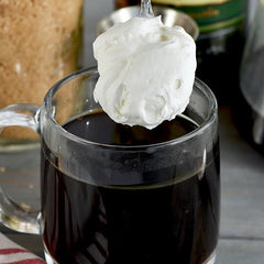Fresh Whipped Cream on Your Coffee - YUMMM