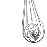 "10"" Medium Whisk 100% Stainless Steel Will Never Rust & Will Last a Lifetime Faster Whisking with VansieHome 10"" Cage Whisk"