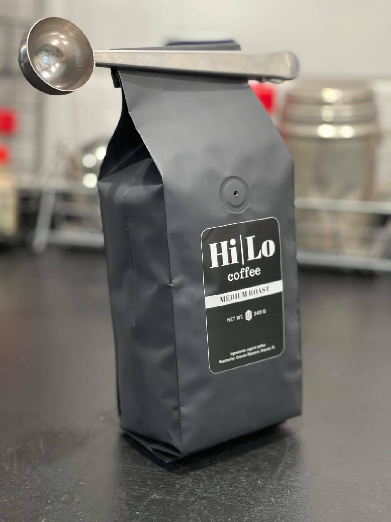Hi|Lo Coffee Medium Roast 12oz Bag