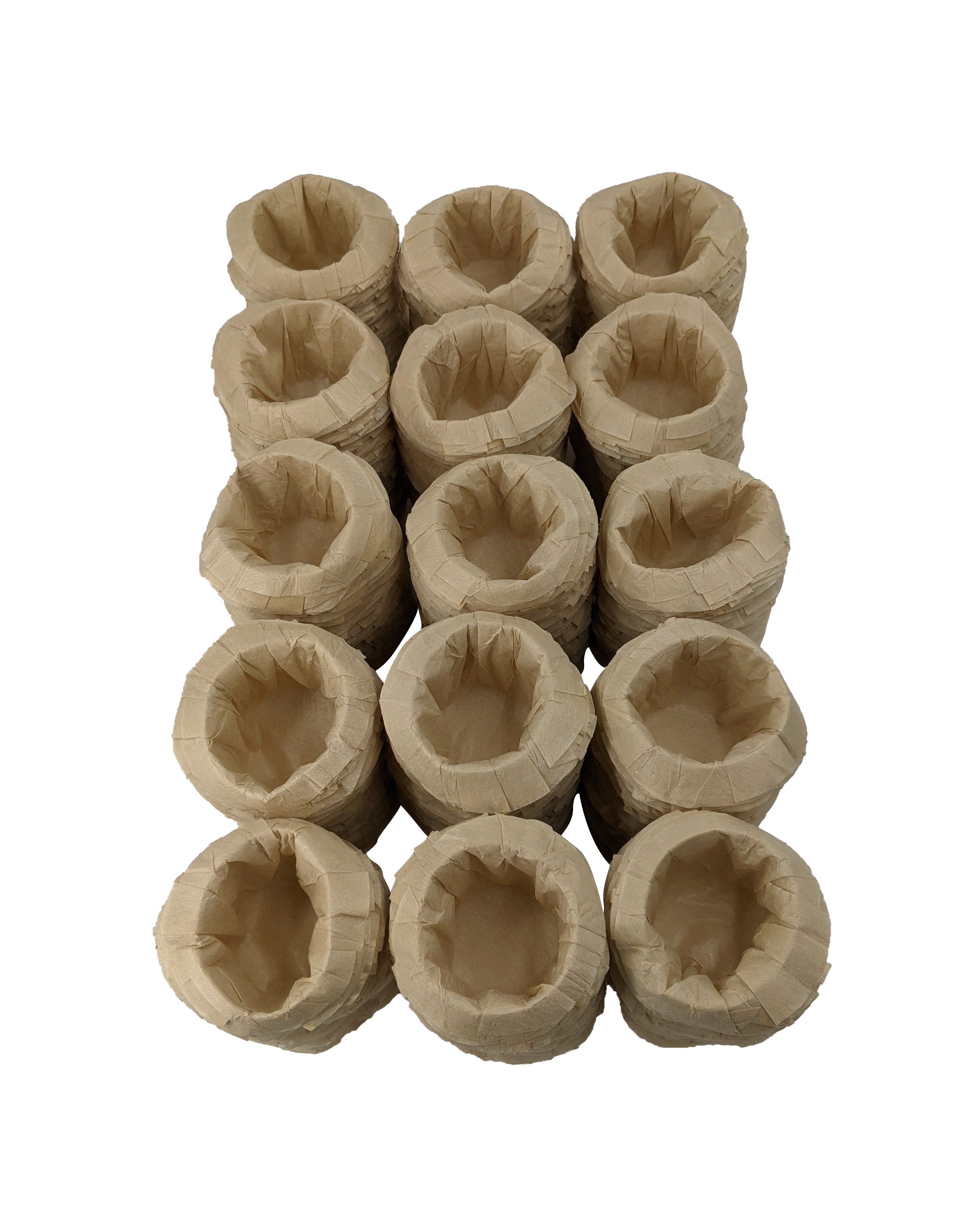 """Go Green Natural K-Kit Filters""- (750) un-bleached wide-brim k cup coffee filters"
