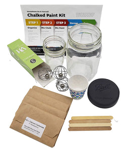 Chalked Paint Kit - Make DIY Chalk Finish Paint The Quick & Easy Way! You Supply Paint & The Kit Contains Everything Else to Make DIY Chalk Style Paint for Up to 4 Projects