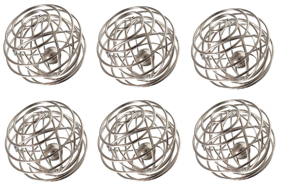 VansieHome Whiskball (6-pk)  FINALLY NO CLUMPS -  A Better Mixer for Matcha, Pancakes, Eggwhites, Whipped Cream & Sauces & Dressings (6-pk)