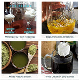 Vaneesa's Miracle Mix-It Ball (6) FINALLY No More Grainy Protein | Mixes Matcha Faster | Mix Eggs, Pancakes, Waffles, Dressings Better | Make Richer EggWhite Foam Cocktails! (6 Balls)