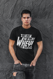 SLAY WITH WHEY v2 - Next Level Crew Neck T-Shirt - UNISEX - FITTED
