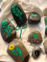How to create story stones for school kids