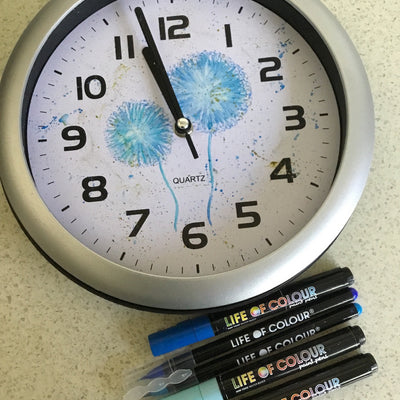 Revamping a clock with Life of Colour