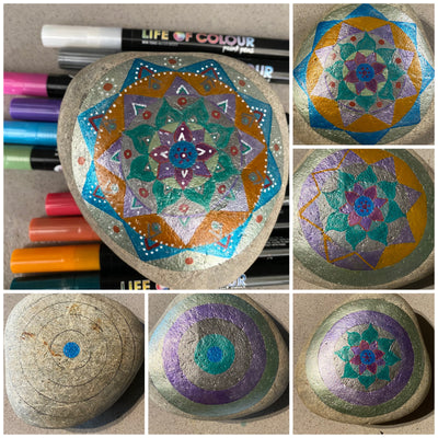 7 Fun projects to do with Metallic Shimmer Paint Pens