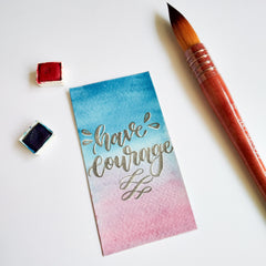 have courage bookmark by @pensomaniac