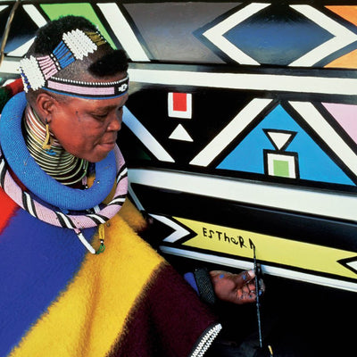 A trip to South Africa and Ndebele Art