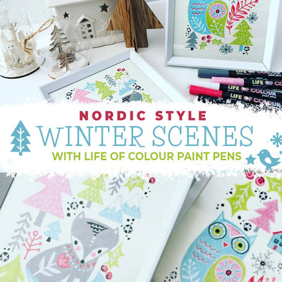 Nordic style Christmas scenes to decorate any corner of your home